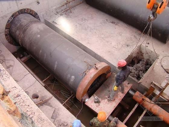 泥水平衡法顶管施工方案