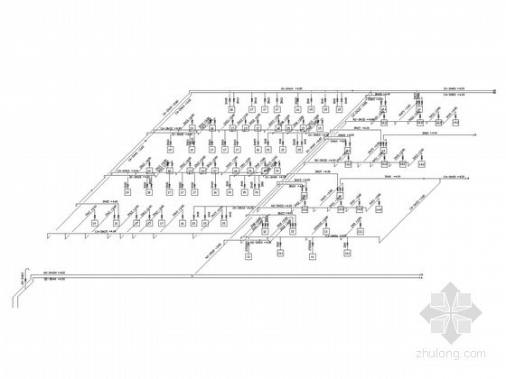 [江苏]多层厂房建筑暖通空调系统设计施工图