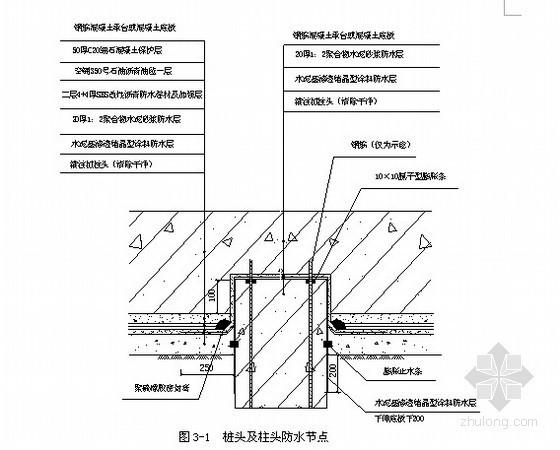北京某工程防水施工方案(15页)
