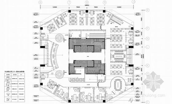 现代风格财务公司办公空间室内装修全套概念方案设计