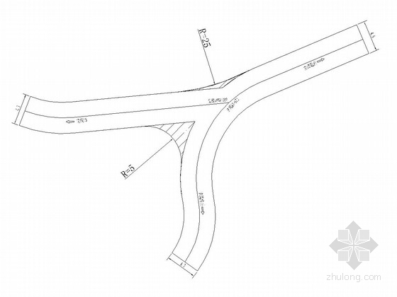 [重庆]农村公路改造工程施工图设计50张(含护栏 标志)