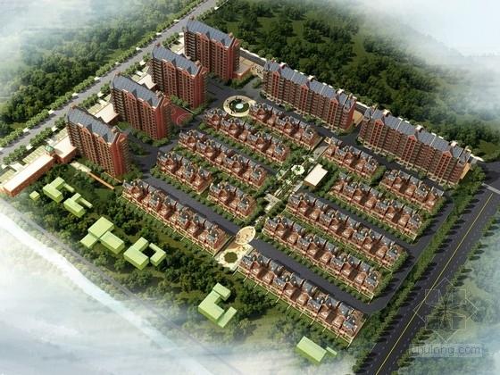 [江蘇]英倫風格住宅區規劃及單體建筑設計方案文本