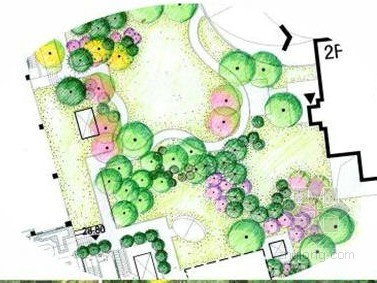 别墅样板区景观硬景扩初设计