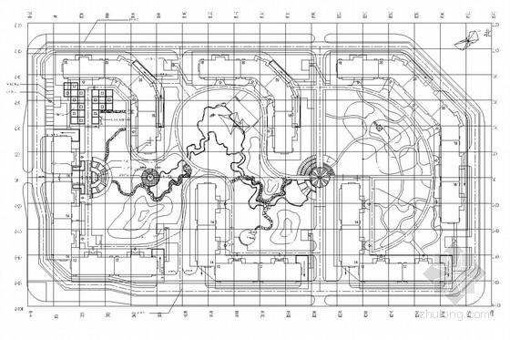 [北京]居住区园林景观工程施工图(一期)