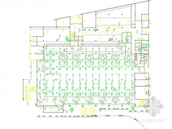 [广东]高等院校后勤楼空调通风及防排烟系统设计施工图