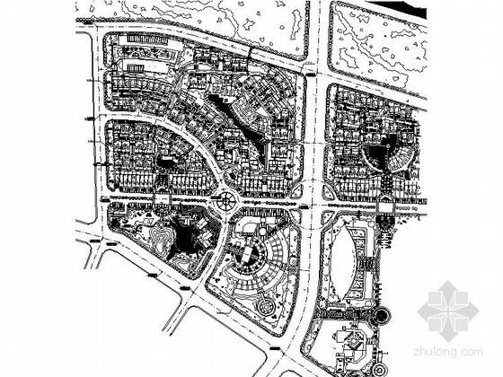 [北京]某温泉别墅区规划方案图
