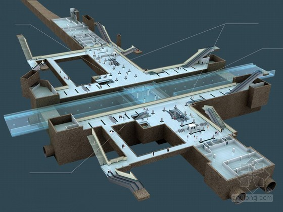 [北京]地铁车站主体扣拱及二衬施工方案74页(图表丰富)