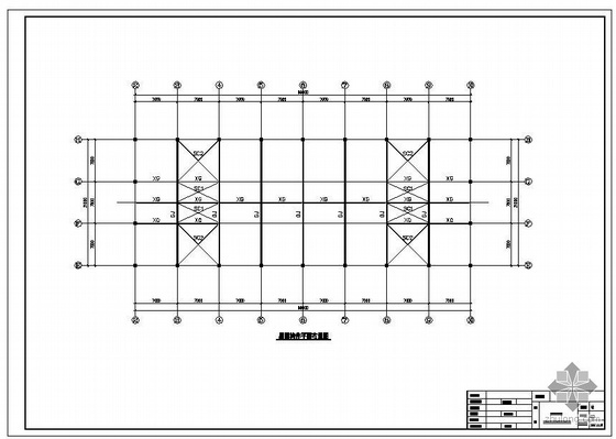 重庆某生产厂房竣工图