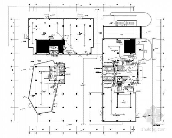科技园办公商务综合建筑群全套智能化系统图纸56张