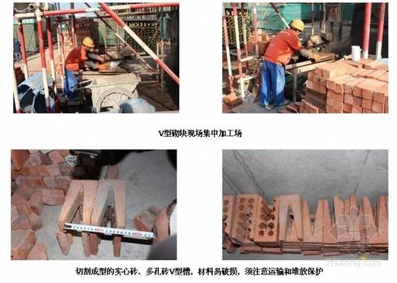 建筑工程施工新技术创新做法总结(砌筑不开槽、日式放线)