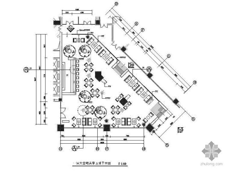 [长春]某国际大厦办公空间装修图(含效果)