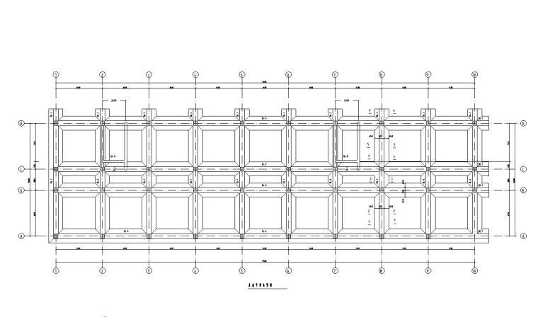 七层旅馆设计框架结构毕业设计(建筑图结构图计算书9000平米)