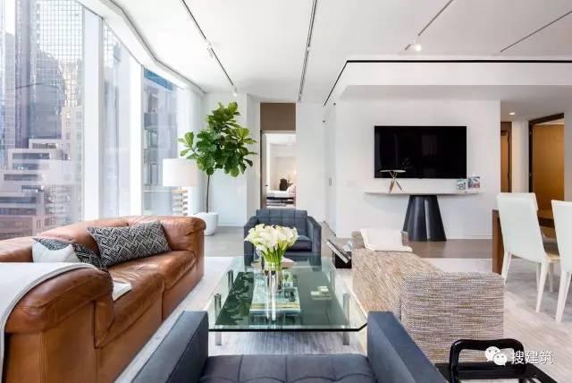 """万科在纽约开发的""""新地标住宅"""",高200米,1000-1600平方英尺的_13"""