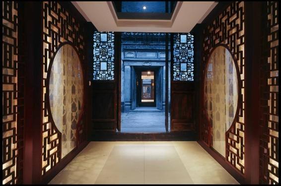 中式设计会所装修风格案例