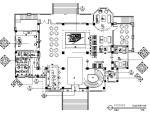 [四川]欧式简约售楼部设计施工图(含效果图)