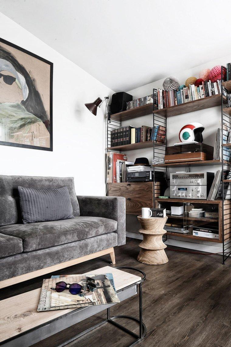 伊斯坦布尔:这间只有41平米的公寓却带来无限的生活美感_2