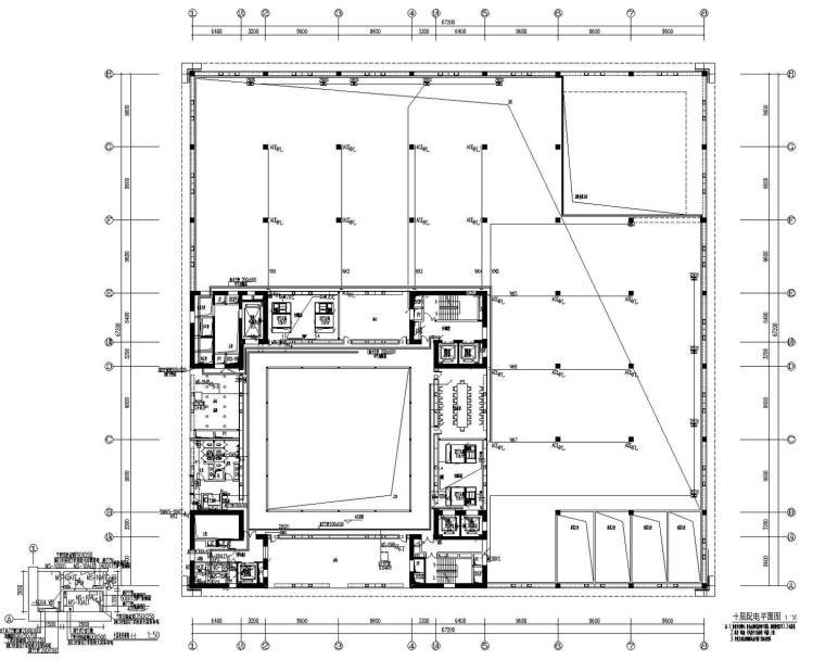[江苏]文化广场美术馆电气施工图(甲级院最新设计)