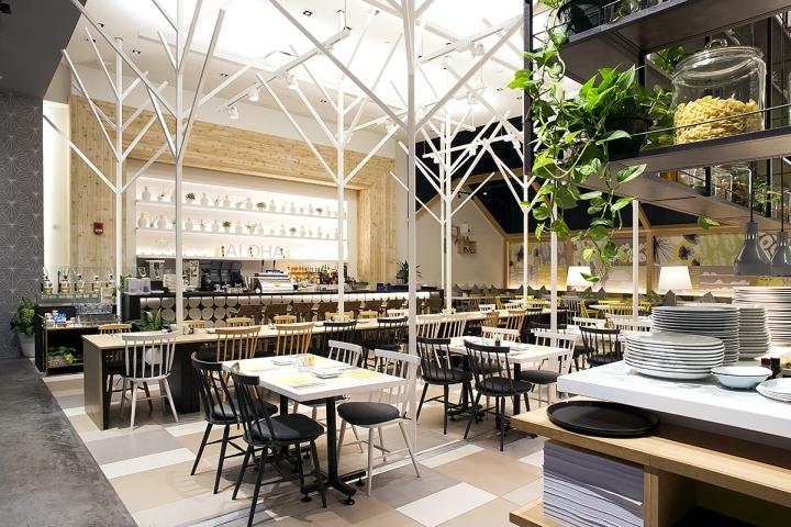 美国拉尼咖啡面包店和餐厅