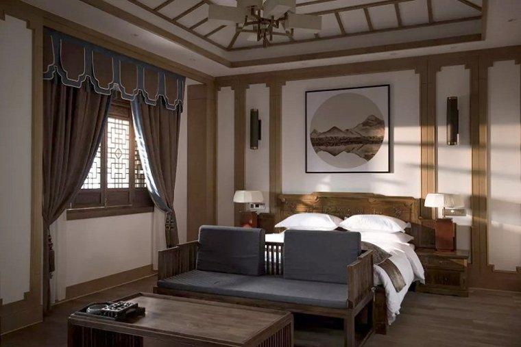 隐于白茶城中的合院酒店-9
