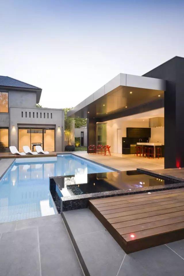 赶紧收藏!21个最美现代风格庭院设计案例_138