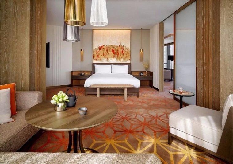 西安雍容盛大的现代君悦酒店室内实景图 (13)