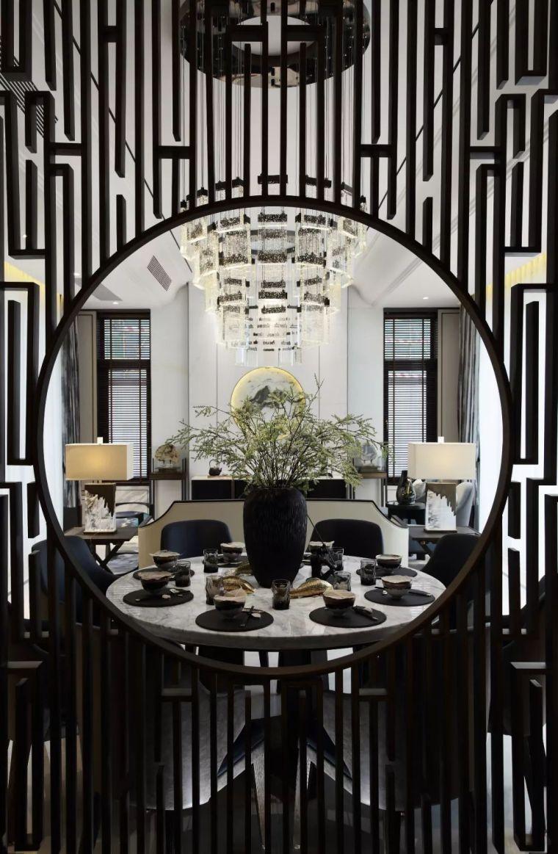 质朴材质也能构建空间气质,顶级别墅样板间设计_6