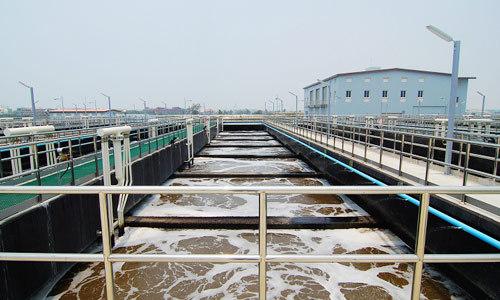 UASB工艺污水处理厂资料下载-[天津]一开发区内污水处理厂污水处理施工工艺