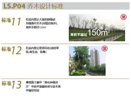 大型地产公司绿化绿皮书(做法与验收标准)-大型地产公司景观植物绿化绿皮书-7乔木设计标准
