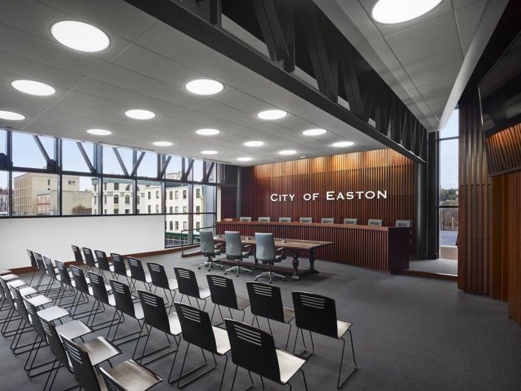 美国伊斯顿市政厅建筑-1 (11)