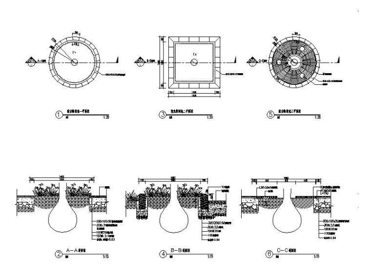 [广西]高档世纪花园景观设计全套施工图