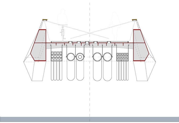 巴肯港步行桥景观平面图(5)