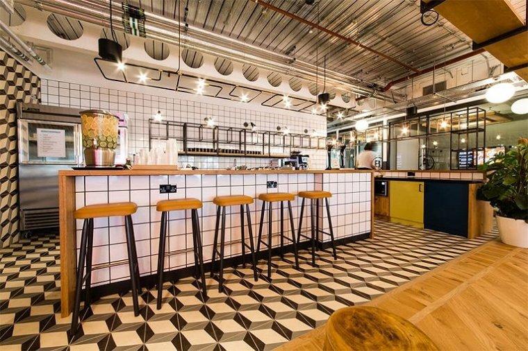 咖啡厅风格的联合办公空间-1