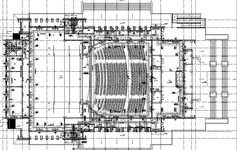 治多县剧场剧院暖通施工图(含通风系统,采暖系统,防排烟系统)_3