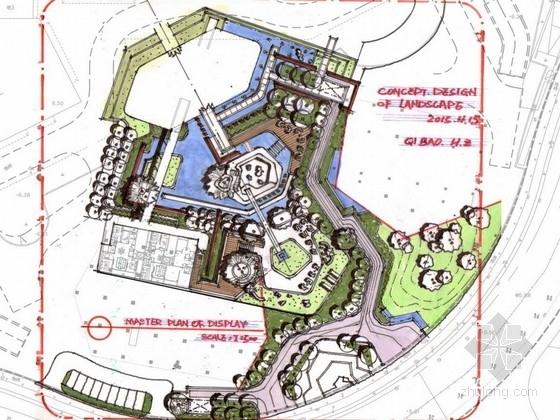 [杭州]高档居住区公共环境景观规划设计方案