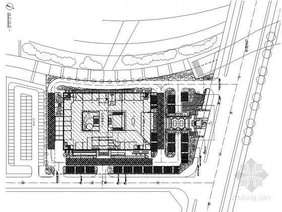 [浙江]商务中心大楼中庭及屋顶花园全套施工图纸
