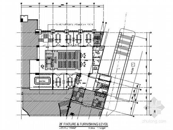 [东莞]某办公大厦会议室施工图
