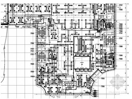 [浙江]商业办公综合楼空调及通风排烟系统设计施工图(大院作品)
