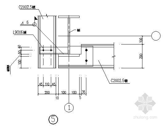 钢结构女儿墙节点详图