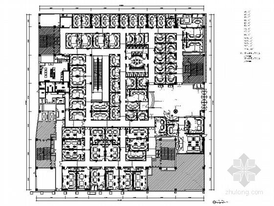 [云南]时尚活力现代KTV室内装修施工图(含高清效果图)