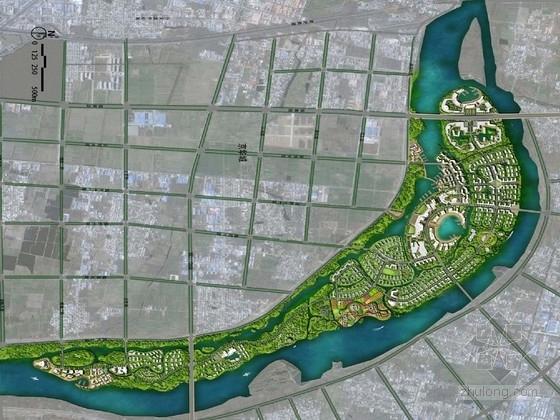 [山东]亲水绿色综合旅游生态岛设计方案