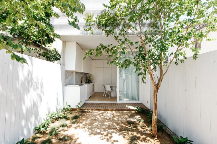 悉尼:清新优雅的住宅改造计划_2