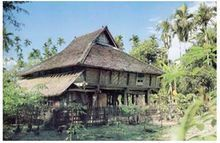 小澳门勐拉傣族的建筑风格