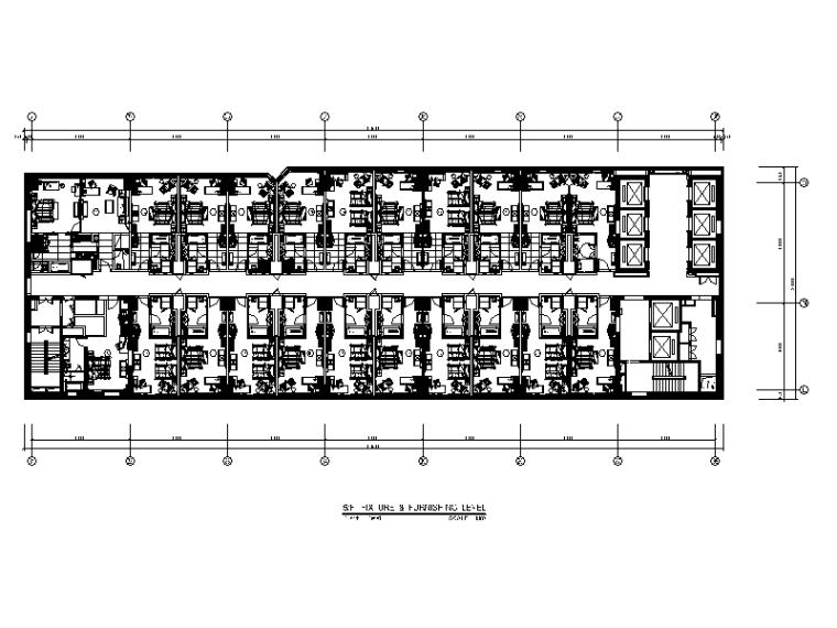 [北京]全套五星级商务酒店设计CAD施工图(含效果图)