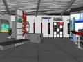 汽车油漆展厅室内设计 SU模型