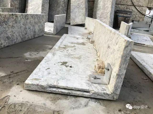 解析|外墙干挂石材幕墙标准化施工流程!_11
