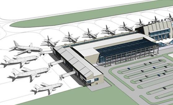 三维协同技术在泉州晋江机场改建工程新建航站楼设计中的应用.
