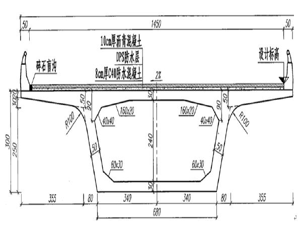 淮南淮上淮河公路大桥工程40m、50m现浇箱梁移动模架施工方案