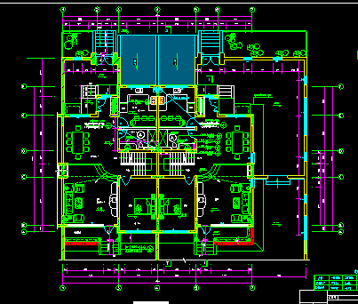 某高档别墅设计图_3