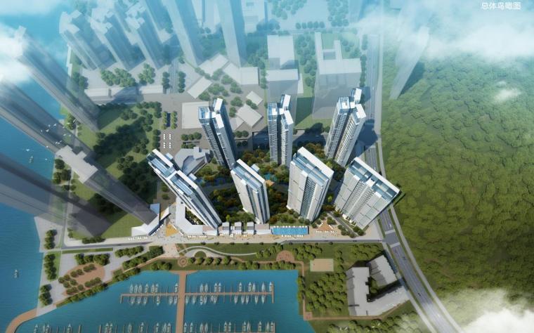 [深圳]超高层高品质临海现代风格住宅建筑设计方案文本