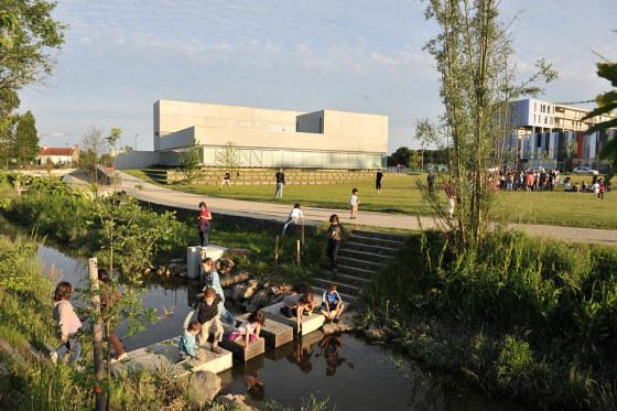 法国卢瓦尔省南特市生态景观设计